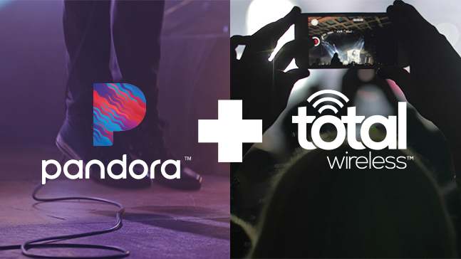Pandora and Total Wireless Total Encouragement sweepstakes